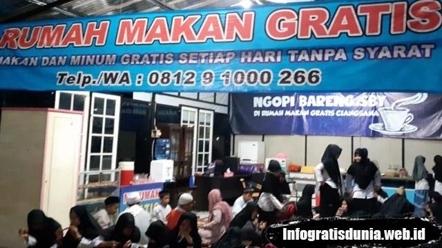 Rumah Makan Gratis Tanpa Syarat