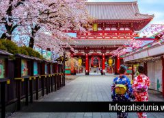 Beberapa Tempat Wisata Gratis di Tokyo Jepang