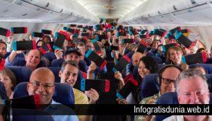 Semua Penumpang di Pesawat Ini Diberi Nintendo Switch Gratis