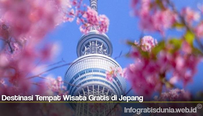 Destinasi Tempat Wisata Gratis di Jepang