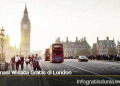 Destinasi Wisata Gratis di London