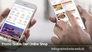 Promo Gratis Dari Online Shop