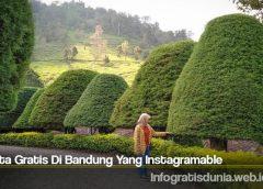 Wisata Gratis Di Bandung Yang Instagramable