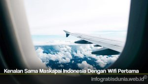 Kenalan Sama Maskapai Indonesia Dengan Wifi Pertama
