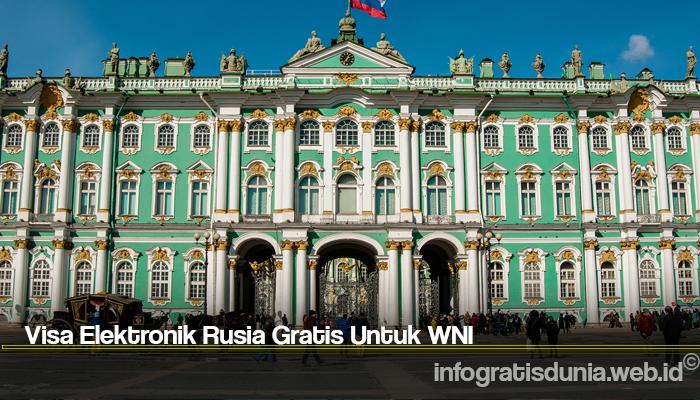 Visa Elektronik Rusia Gratis Untuk WNI