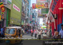 Sri Lanka Fasilitasi Perpanjangan Visa