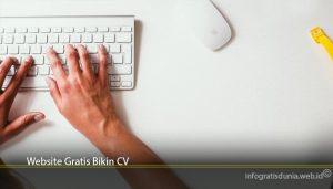Website Gratis Bikin CV